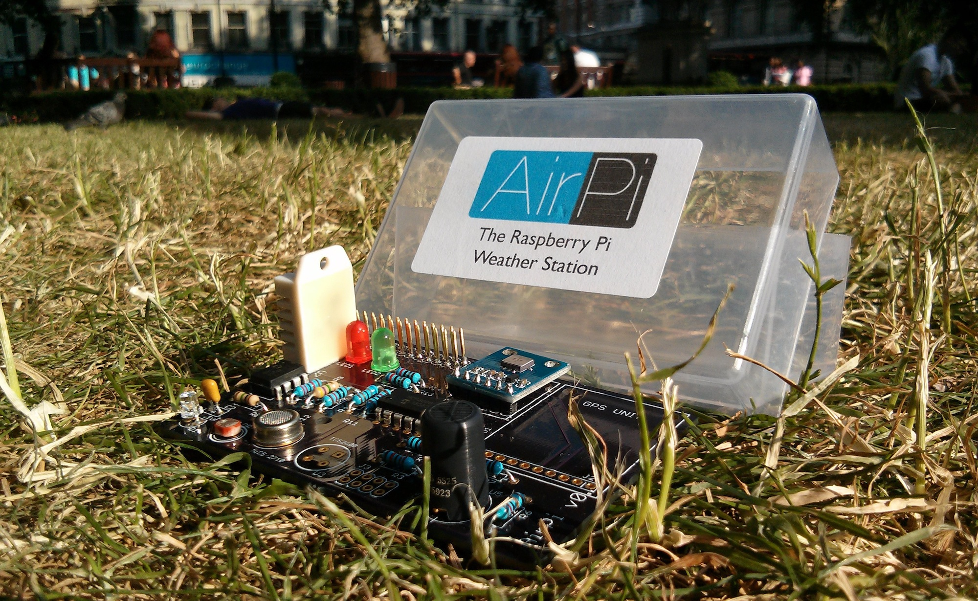 Airpi Air Quality Amp Weather Project